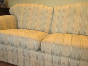 Marks gone and sofa looking cleaner and smelling fresh